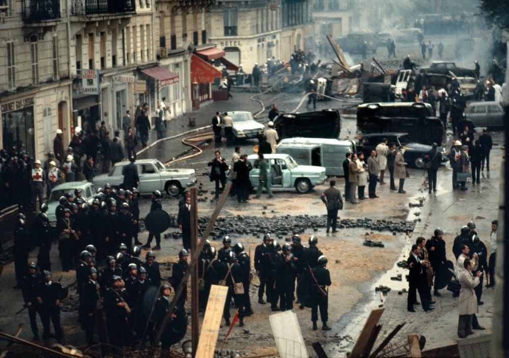 1968 Красный май в Париже в объективе фотографа Бруно Барби33
