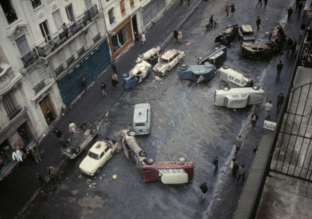 1968 Красный май в Париже в объективе фотографа Бруно Барби34
