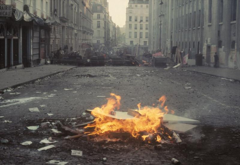 1968 Красный май в Париже в объективе фотографа Бруно Барби35