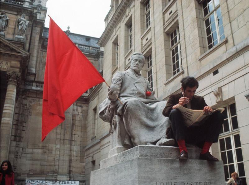 1968 Красный май в Париже в объективе фотографа Бруно Барби36