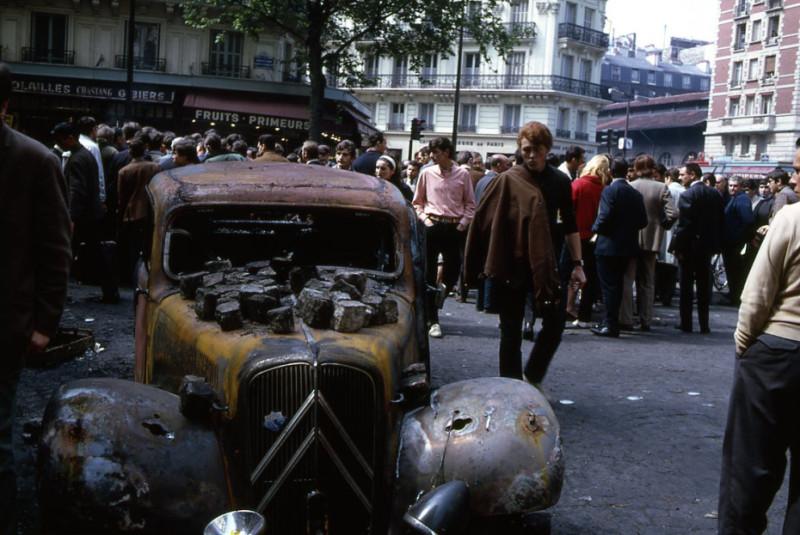 1968 Париж Робер Дуано