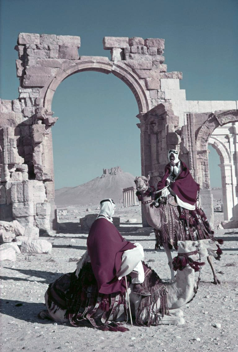 1938 Palmyra from the National Geographic archives