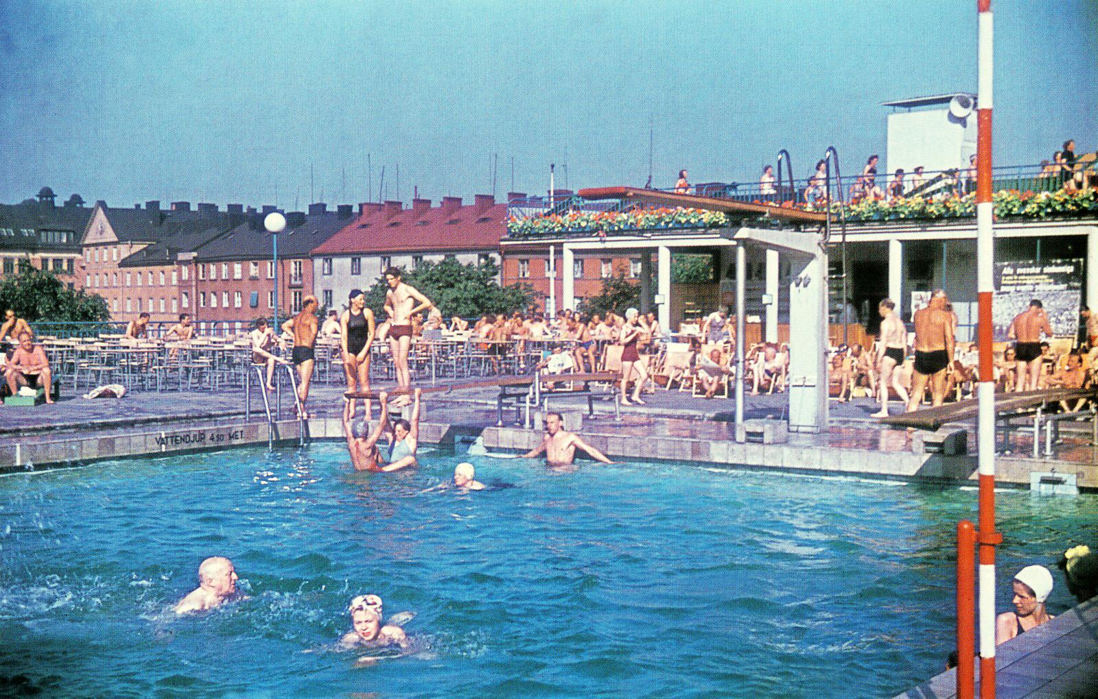 1938 Stockholm Vanadisbadet