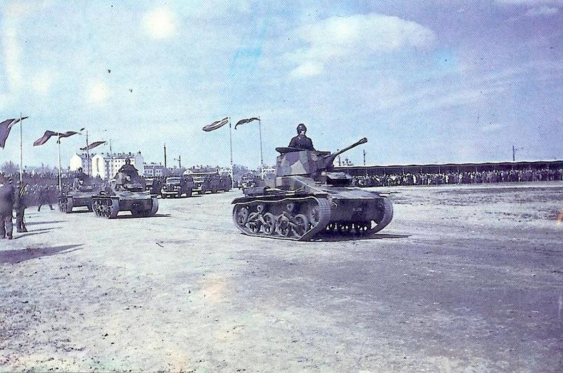 1938 Парад латвийской армии 18 ноября 1938