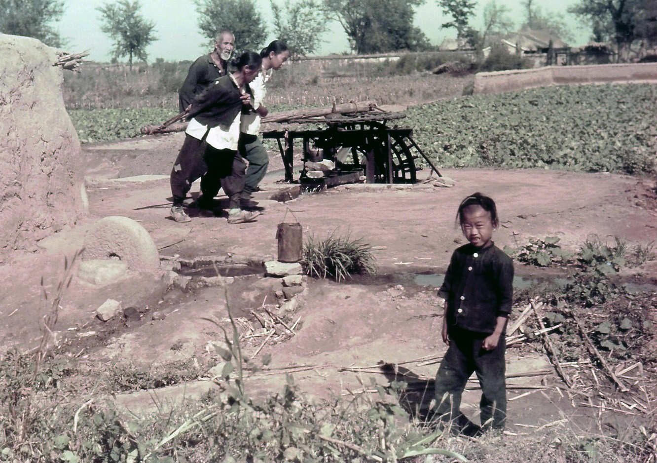 1938c Peking countryside
