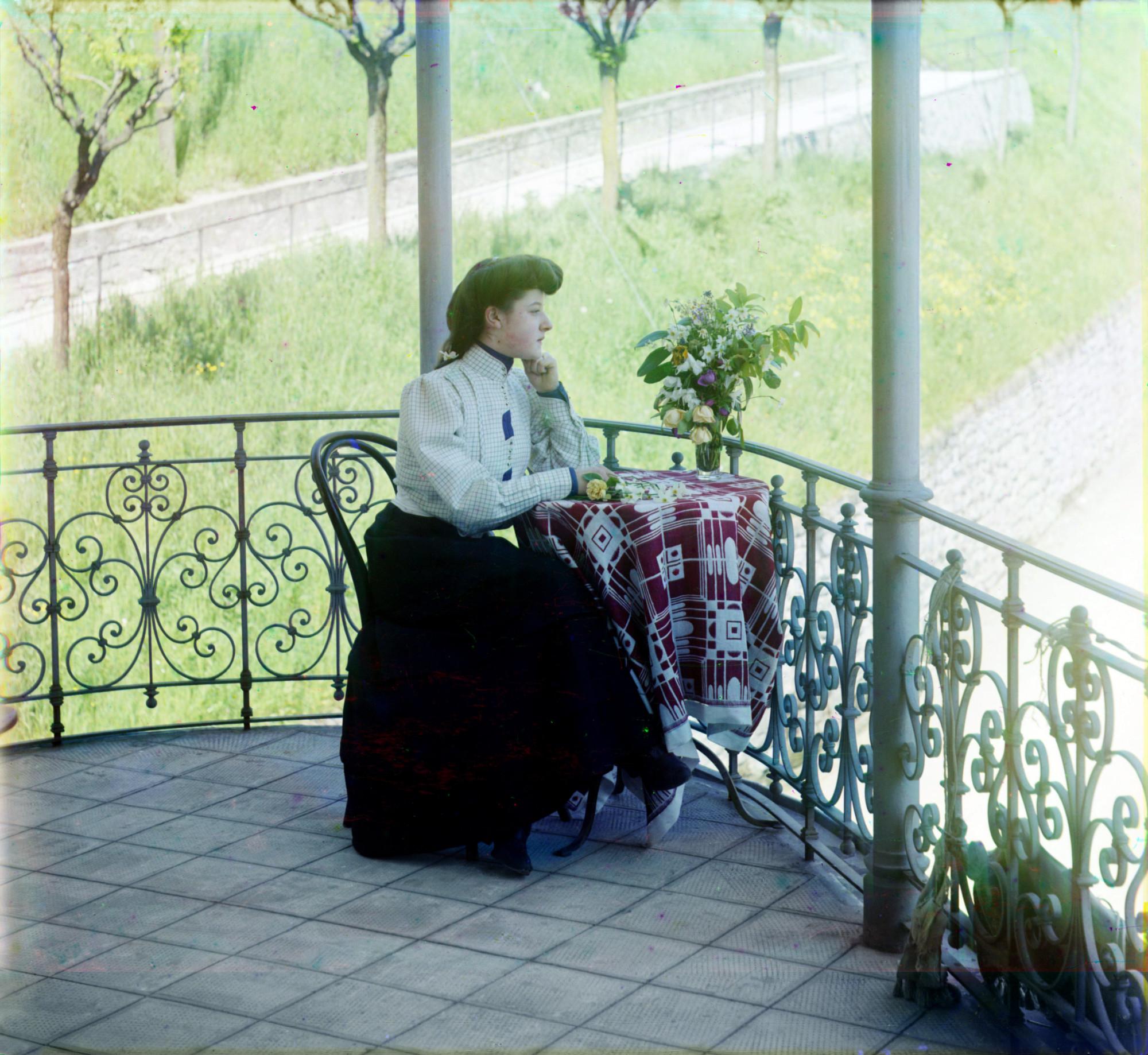Лугано. Этюд. Прокудин-Горский, 1908 г.