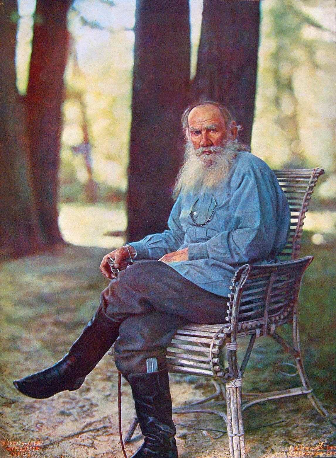 Лев Толстой, 23 мая 1908 г., Прокудин-Горский
