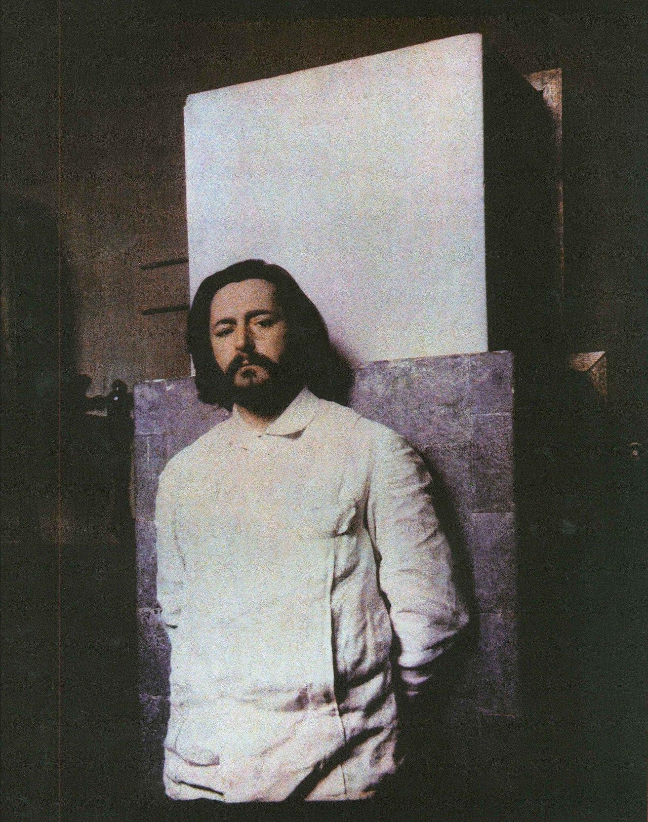 Русский писатель Леонид Андреев, автопортрет, 1908 г.