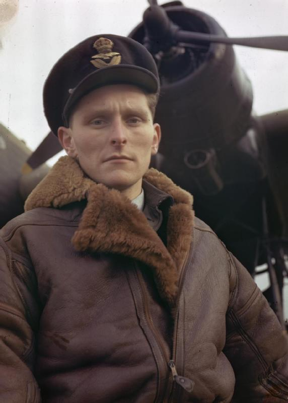 BOMBER PILOTS OF THE ROYAL AIR FORCE OCTOBER 1943