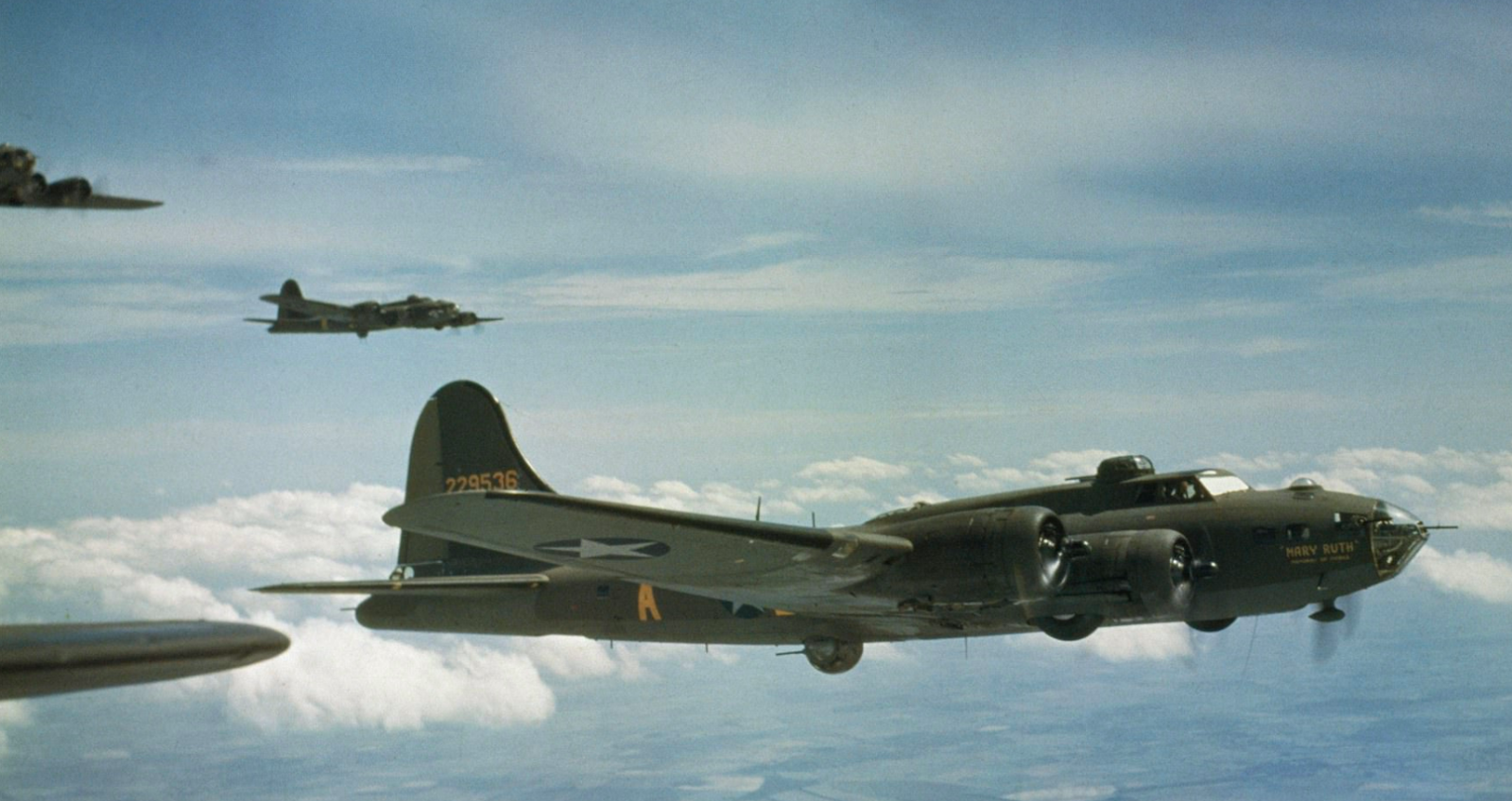 May 1943 B-17F Flying Fortress 'Mary Ruth - Memories of Mobile' of the 91st Bomb Group, US Eighth Air Force