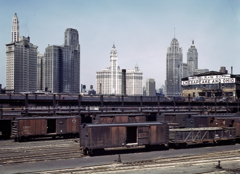1943 South Water Street freight terminal Chicago