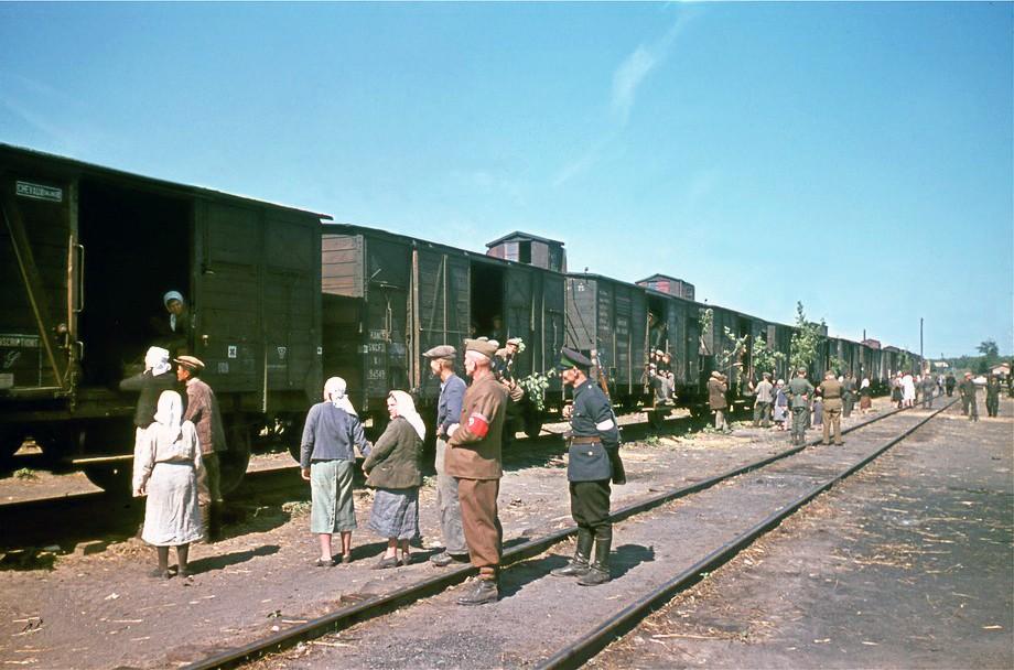 1943 Станция Долинская депортация украинцев