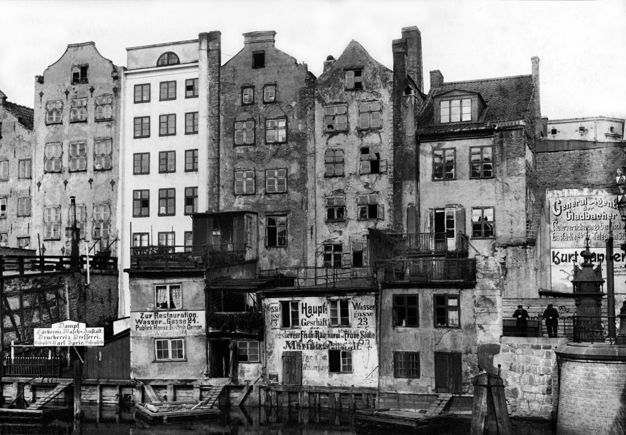 1890s Вассергассе