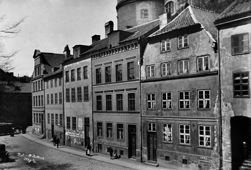 1892 Дома у южной стороны Замка