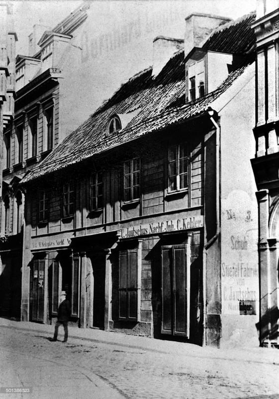 1890с Дом Канта который был снесён в 1893 году