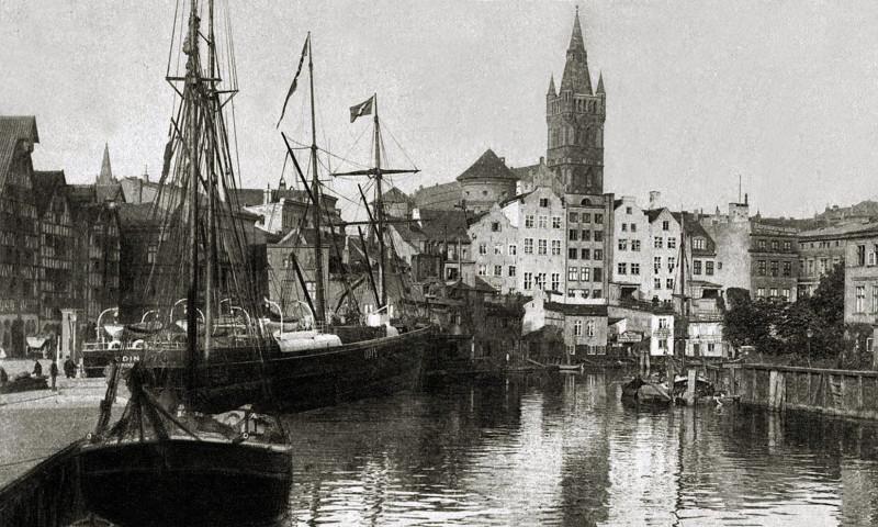 1870с еще не достроенная набережная Кнайпхофа, с садами на задних дворах домов2