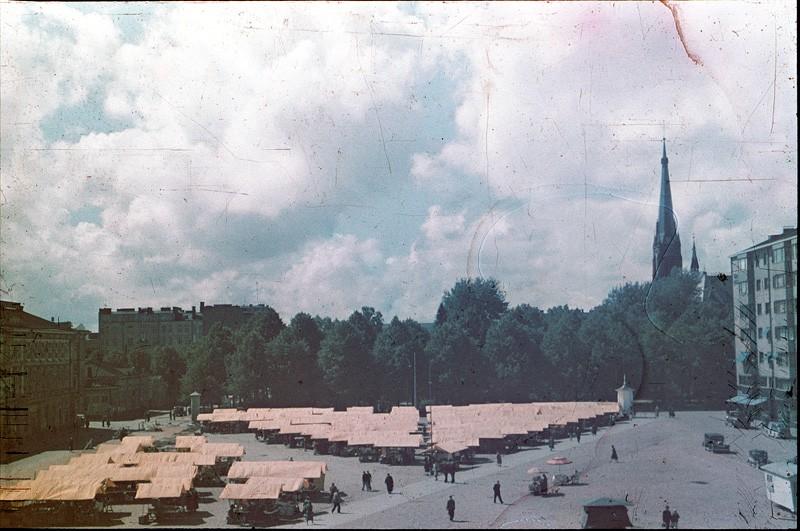 1938 ПлощадЬ Красного Колодца. Lankinen Jalmari