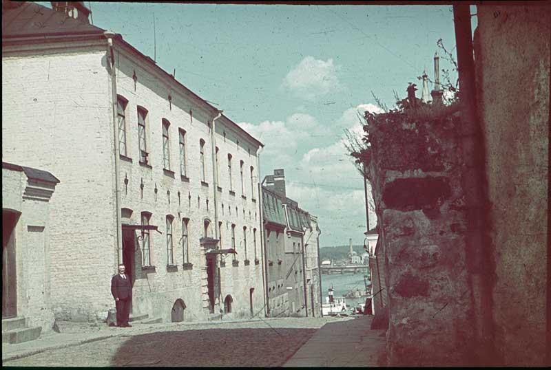 1939 Выборг. Епископская улица