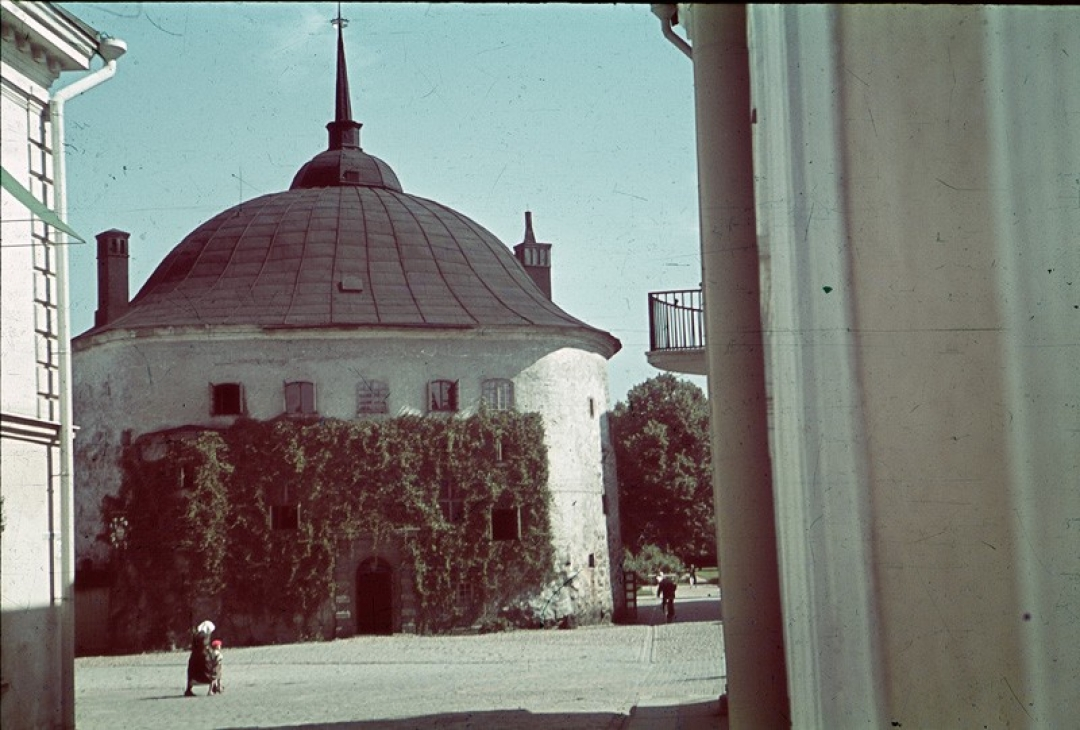 1939 Круглая башня, из коллекции архитектора Ялмари Ланкинена2