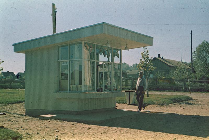 1939 Новый киоск в Выборгском пригороде
