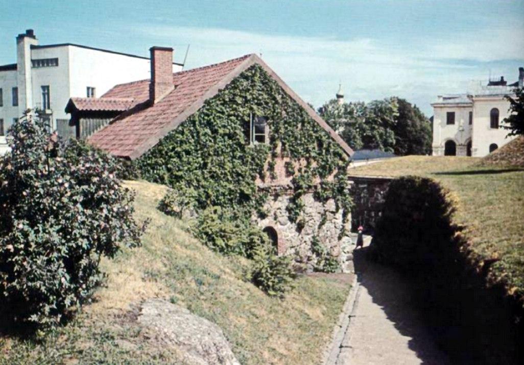1939 Цветной фотоснимок. Бастион Панцерлакс