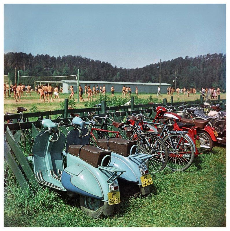 1961 Отдых в Серебряном Бору. Бочинин