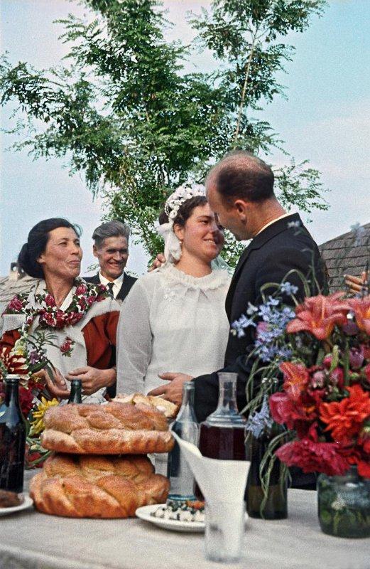 1950е Свадьба. Кузьмин Борис