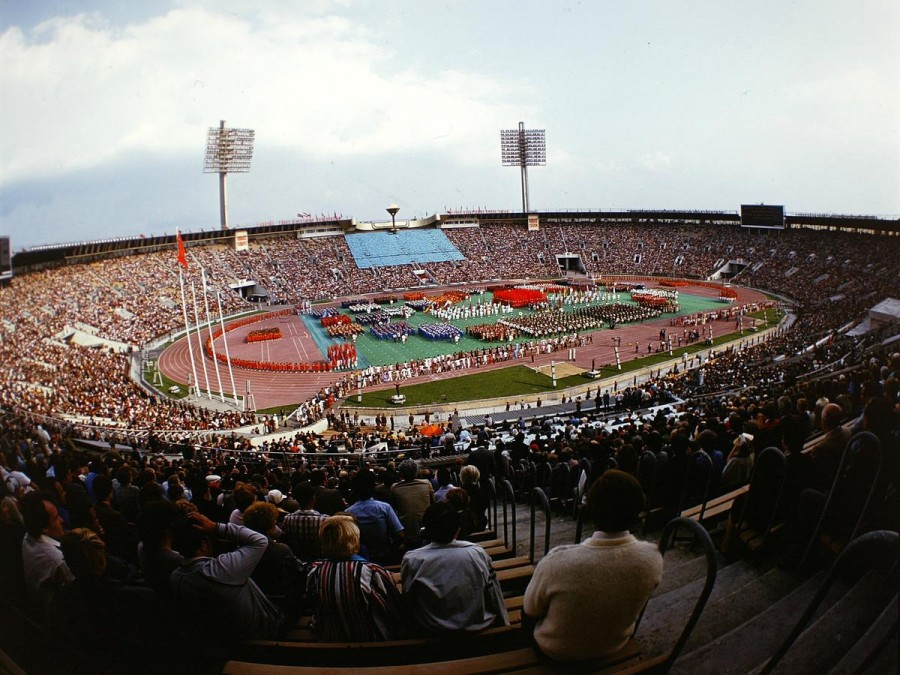 1980 Стадион Лужники. Бочинин