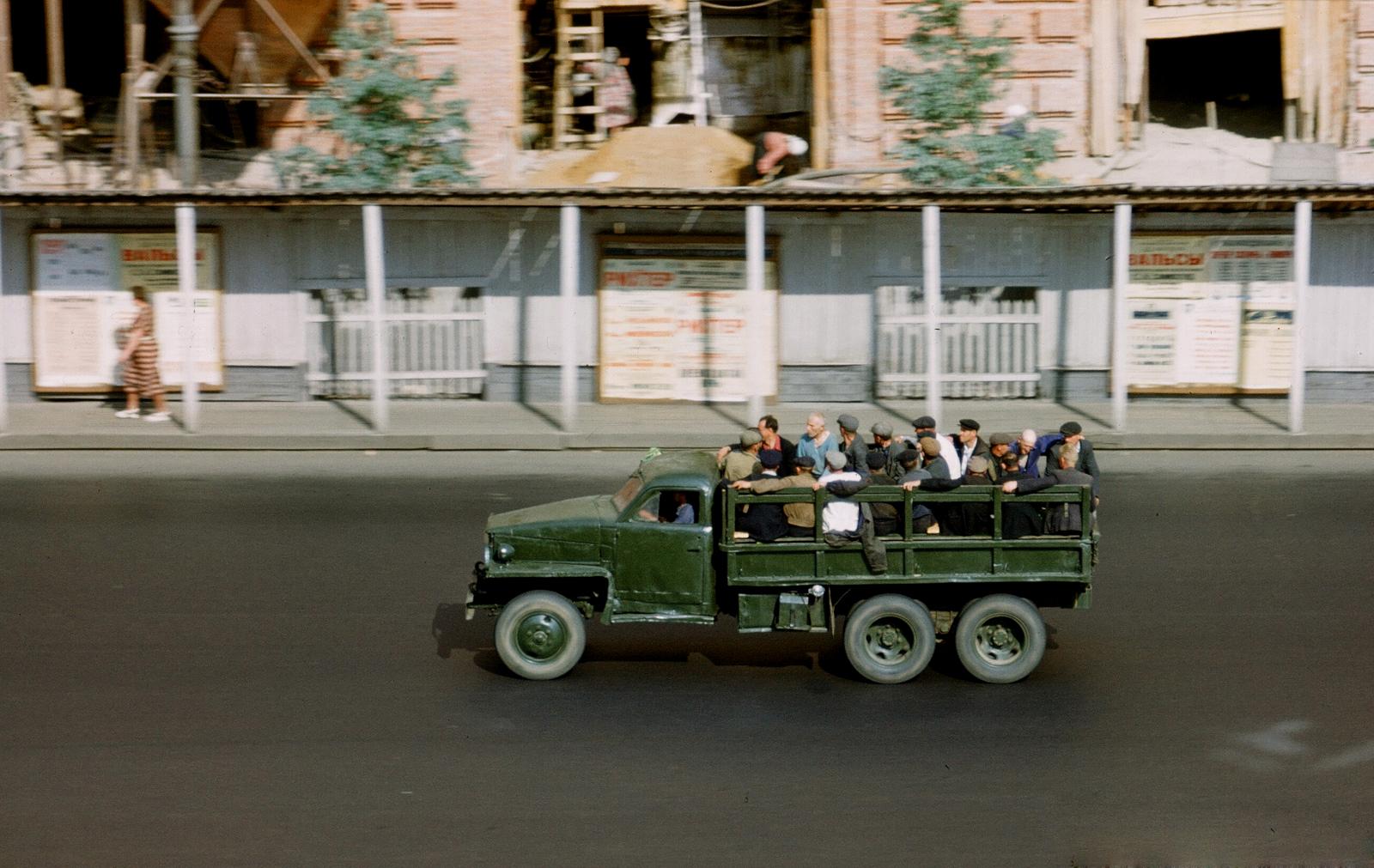 1953 Улица Чайковского напротив американского посольства