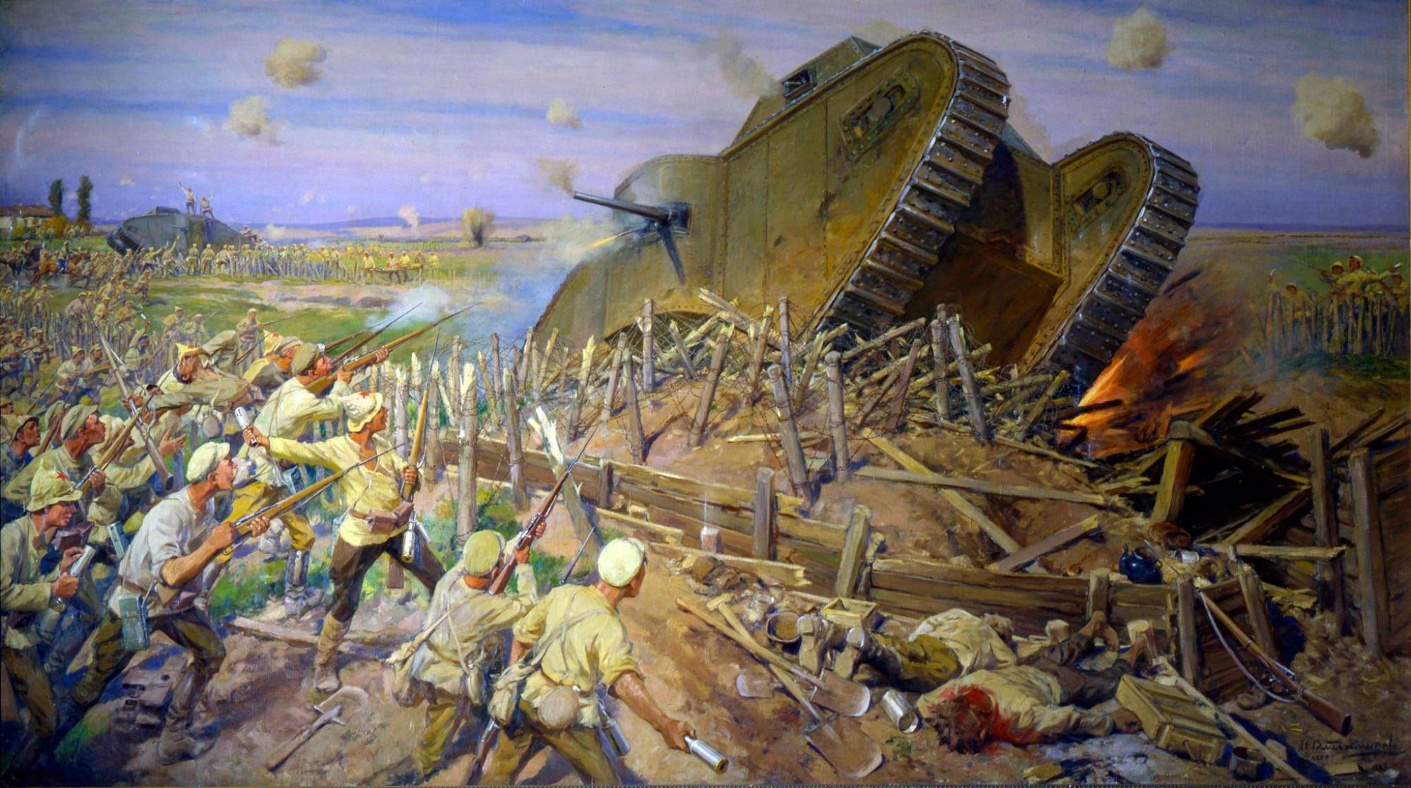 Захват танков под Каховкой, Иван Владимиров, 1927 год