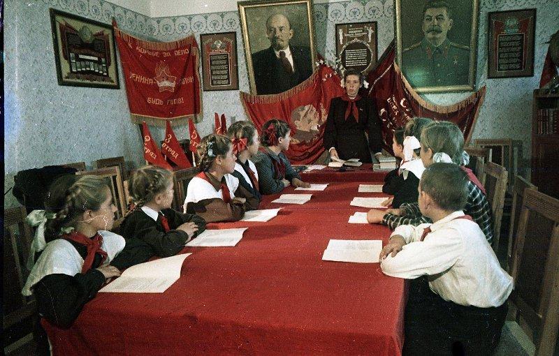 1952 Пионеры Новой Каховки. Васин С.И.