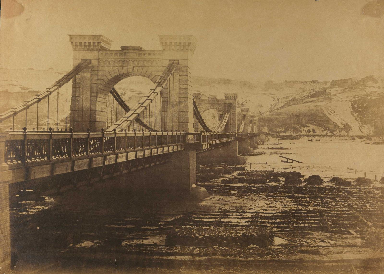 1853 Николаевский цепной мост