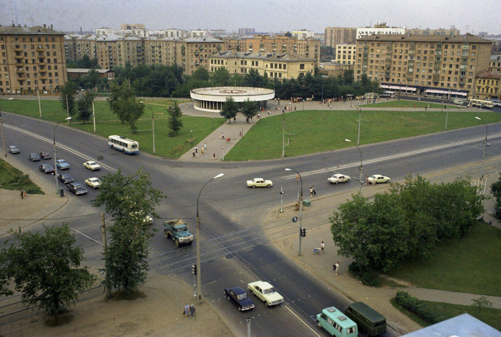 Москва. Краснопресненская застава, 1974 год
