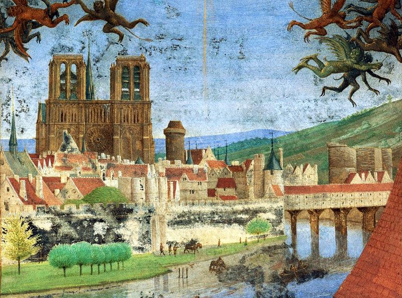 Нотр-Дам в 1452 году