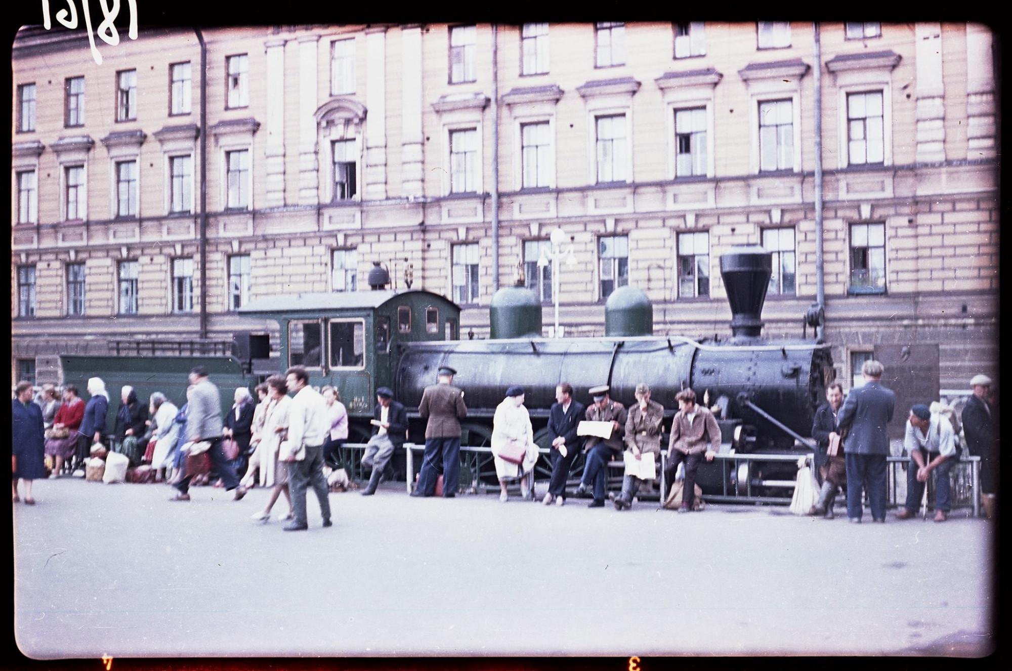 1961 Лениннград. Фото Ю.Г.Вендельштейна