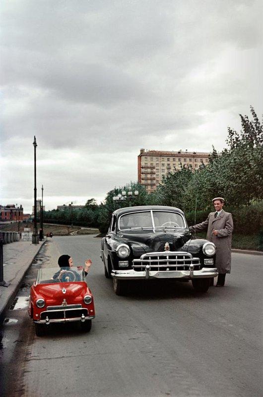 1955 Детский легковой автомобиль. Удобвиченко Б.