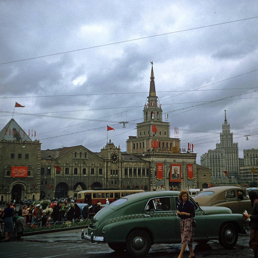 Два кодахромных снимка Москвы