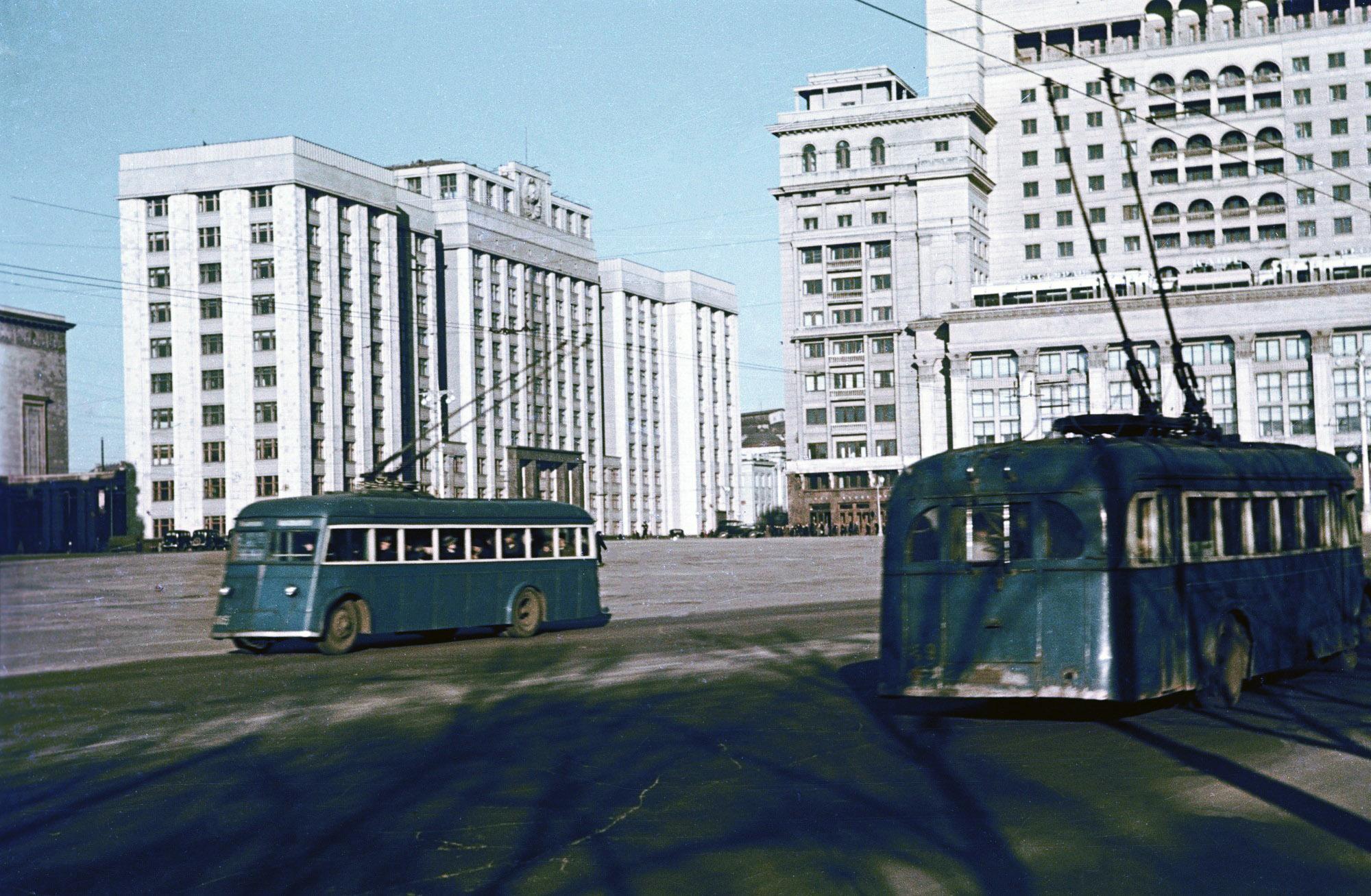 1938 Московские троллейбусы2