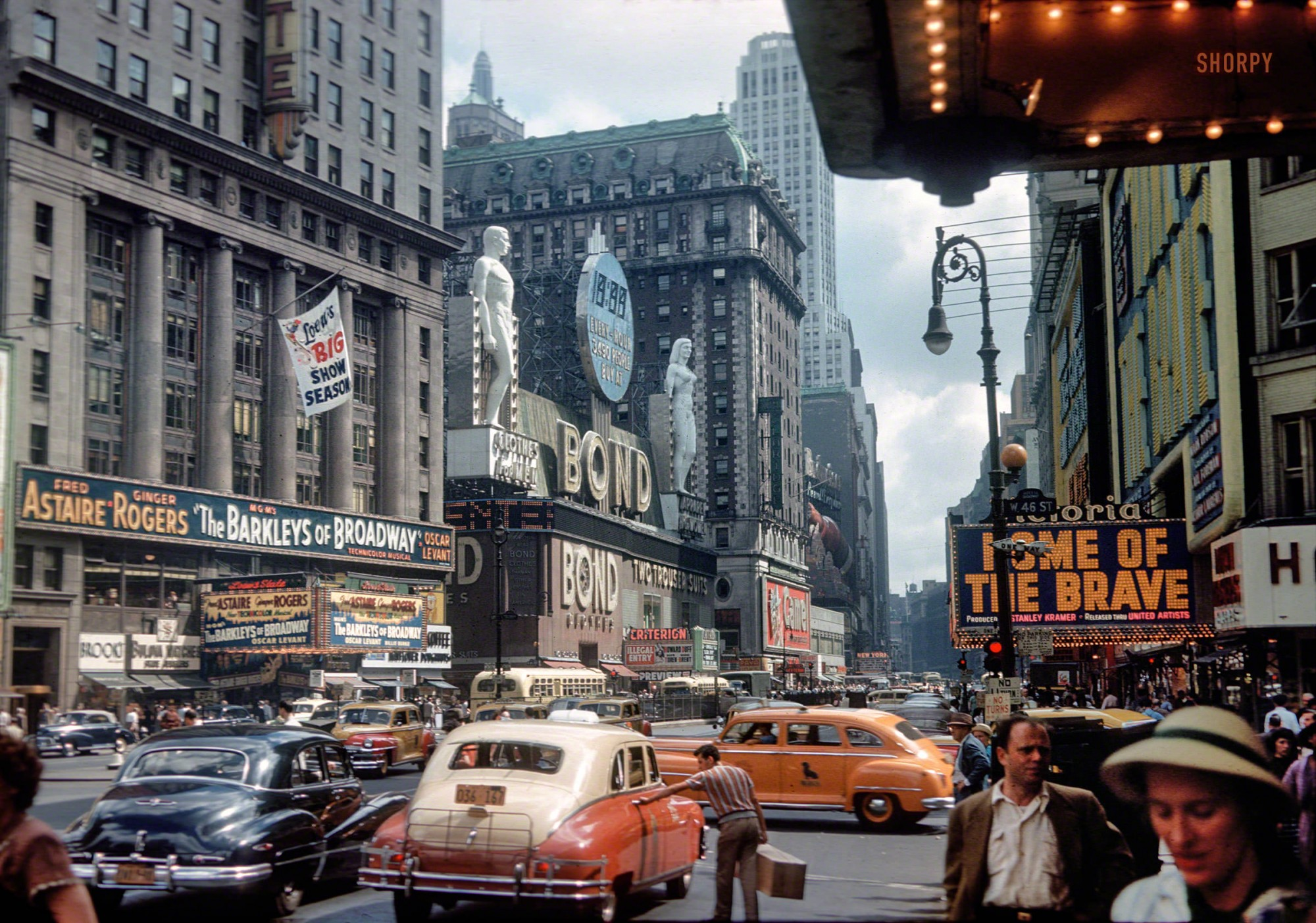 1949 New York, Manhattan, Times Square0