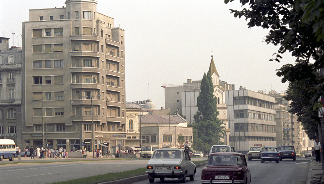 1989 Bucharest РИА Новости. Виталий Савельев