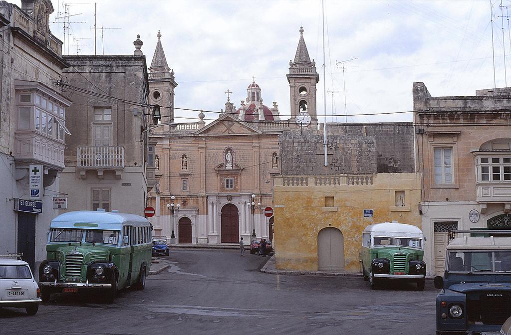 1989 Malta Bus Qormi terminus