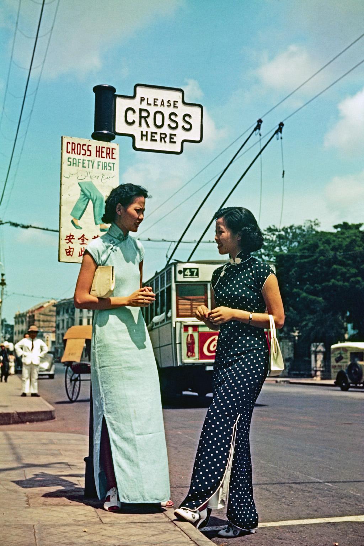 1939 Singapore Троллейбус 1926-1962  J. Baylor Roberts
