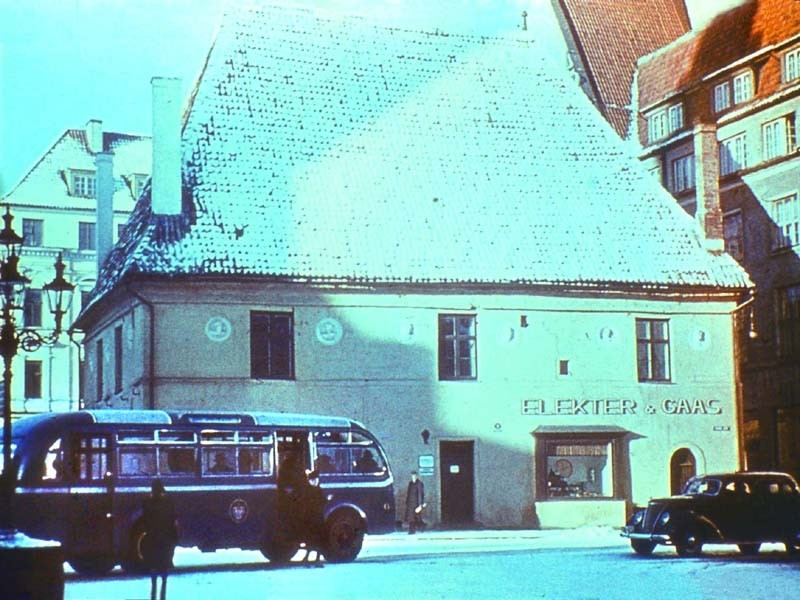 1939 Tallin bus