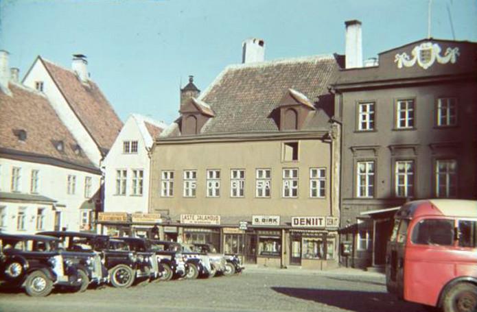 1939 Tallin Ратушная площадь2