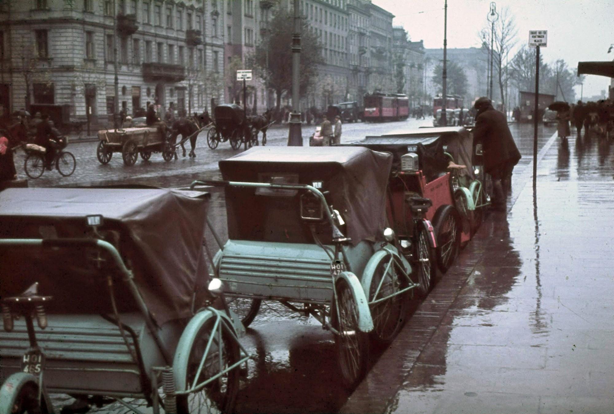 1939 Warsaw October Aleje Jerozolimskie