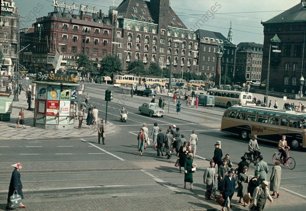 1959 Copenhagen Rathausplatz