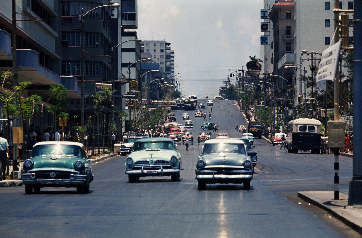 1959 Havana Avenida 23 (also known as La Rampa)