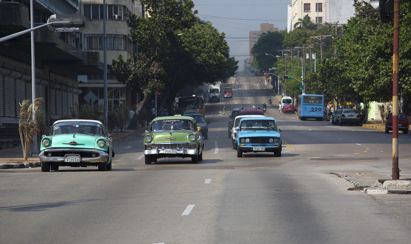 1959 Havana Avenida 23 (also known as La Rampa)2015