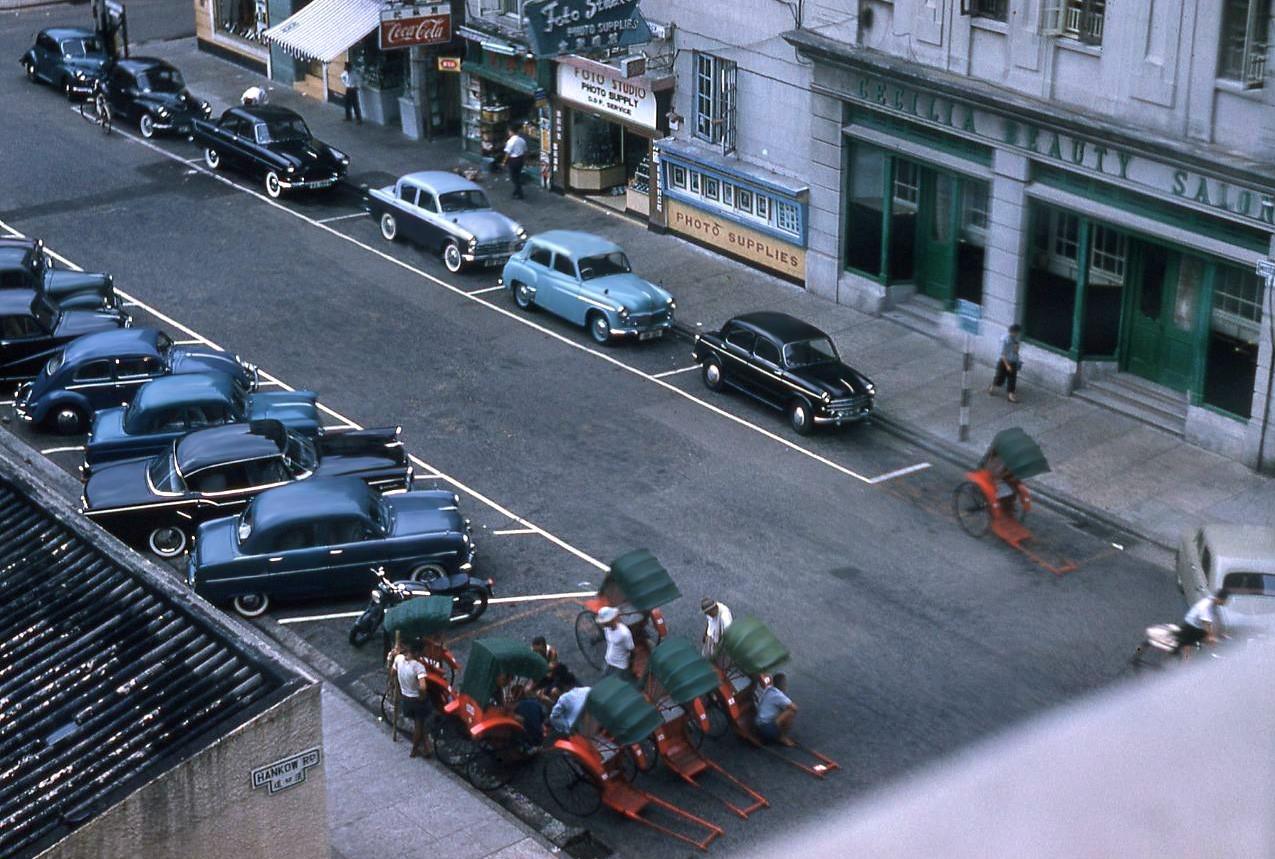 1959 Hong Kong TST Hankow Rd