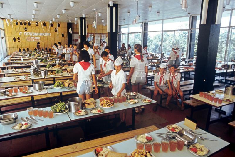 Советские пионерские лагеря из архива РИА Новости